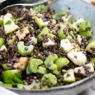 Apple Celery Lentil Salad