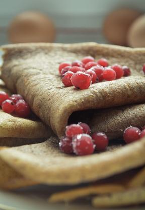Glutenfreie Buchweizen Pancakes (Pfannkuchen)