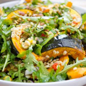 Roasted Hokkaido Pumpkin and Barley Salad