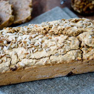 Buckwheat Bread (vegan + gluten-free)