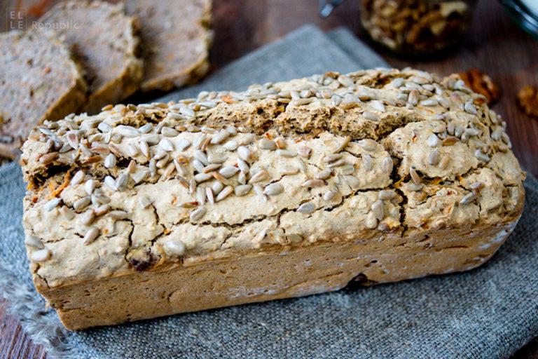 Buckwheat Bread (vegan + gluten-free)