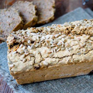 Buchweizenbrot (vegan + glutenfrei) Rezept mit Kerne, Nüsse, Karotten