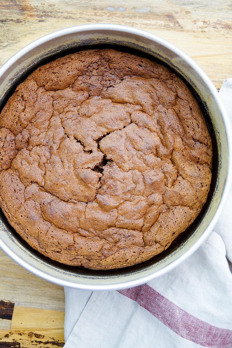 Chocolate Chestnut Cake, flourless, gluten-free