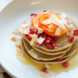 Buckwheat Tahini Pancakes