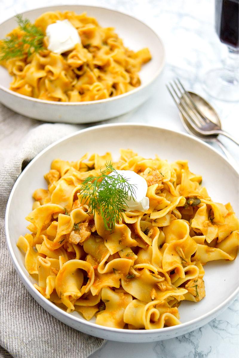 Mazzetti Balsamico-Sugo mit Thunfisch, Kapern, Tomaten, Rezept