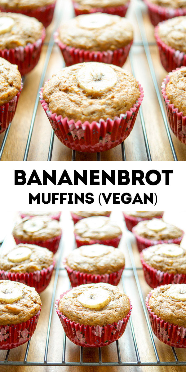 Bananen Muffins (Vegan)