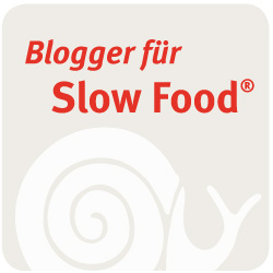 Slowfood Food Blogger Button