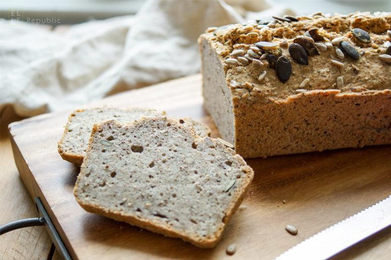 Buckwheat Chickpea Bread (vegan + gluten-free)