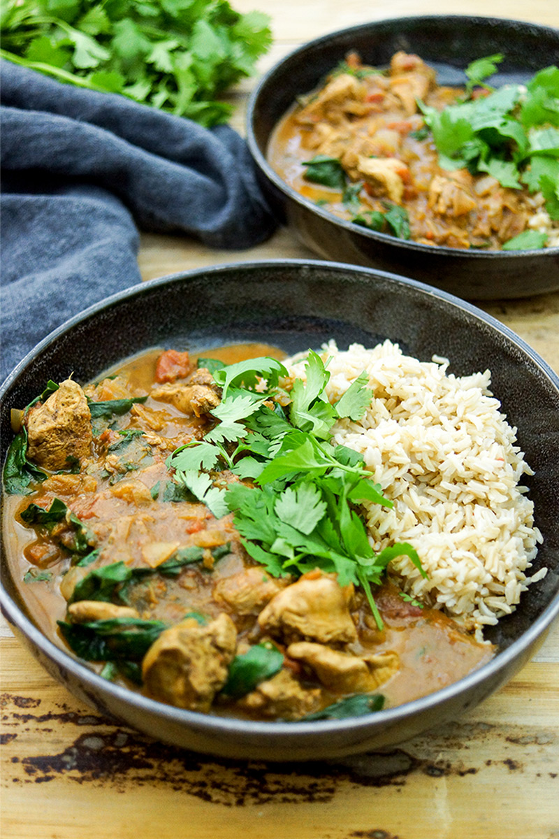 Garam Masala Chicken Curry
