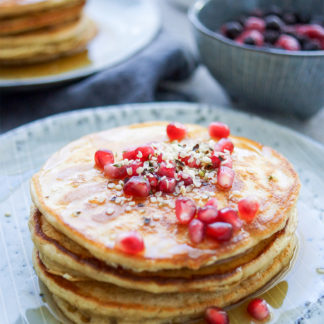 Gesunde Ricotta-Pancakes Rezept mit Dinkelmehl