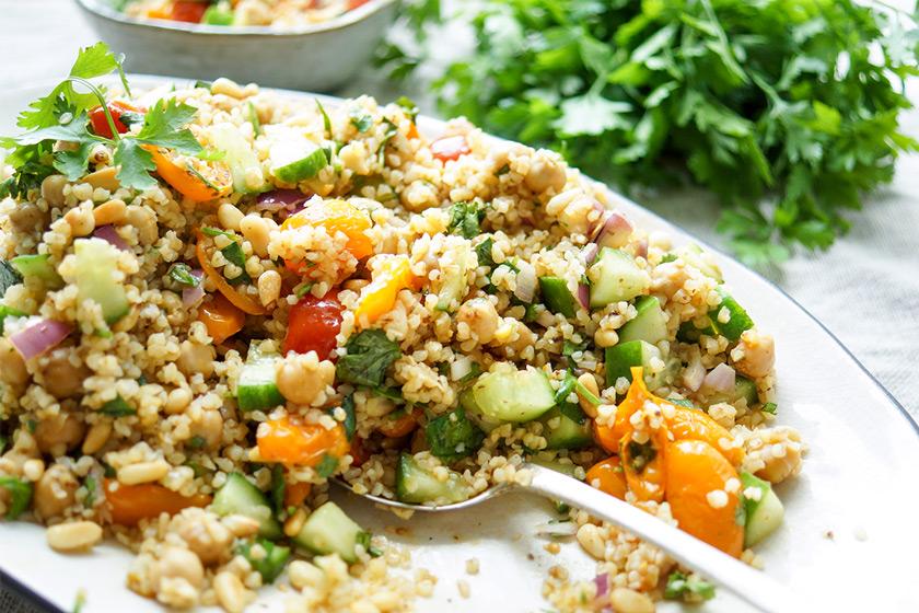 Bulgur salat gurke