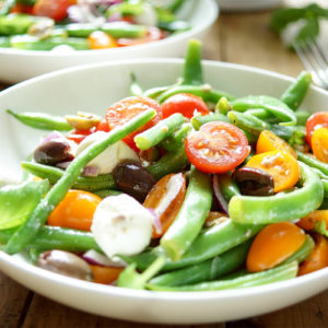 Mediterranean Green Bean and Cherry Tomato Salad
