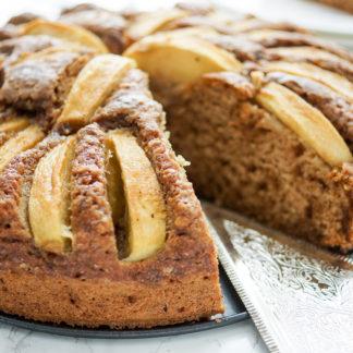 Buttermilchkuchen - Grundrezept mit Apfel oder Heidelbeeren