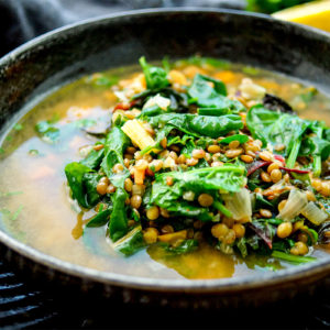 Lentil and Greens Soup