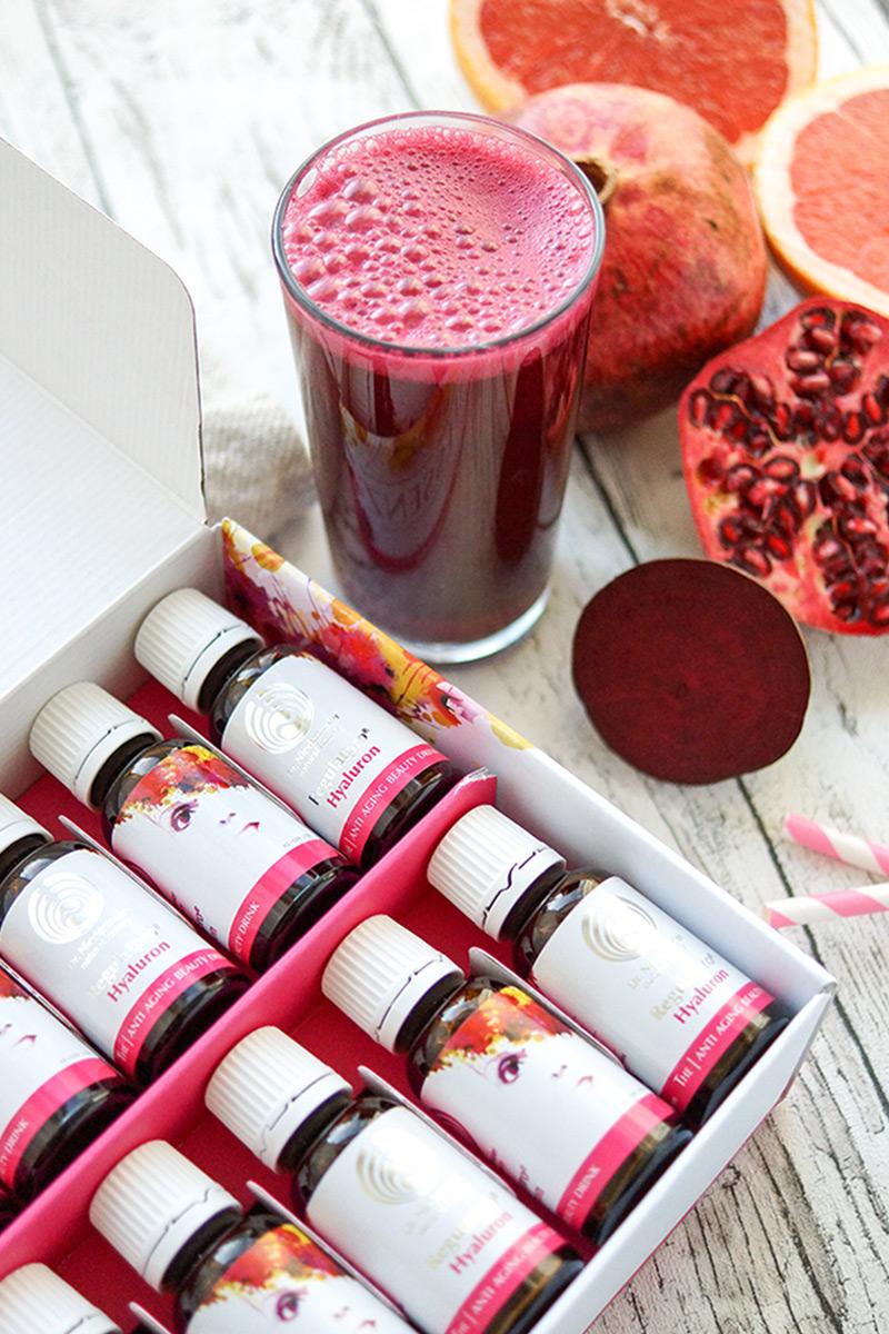 Natürliche Schönheit und Anti-Aging mit Regulatpro® Hyaluron im Beauty-Smoothie Rezept