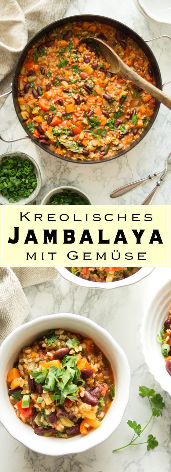 Kreolisches Gemüse Jambalaya Rezept | Elle Republic | Gesund ...