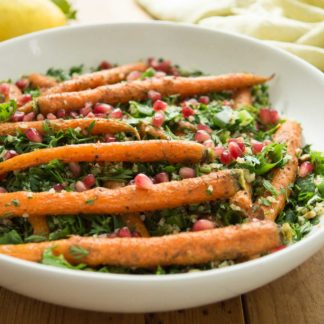 Cumin-Roasted Carrot Tabbouleh