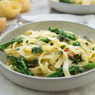 Pasta with Broccoli, Lemon and Chili