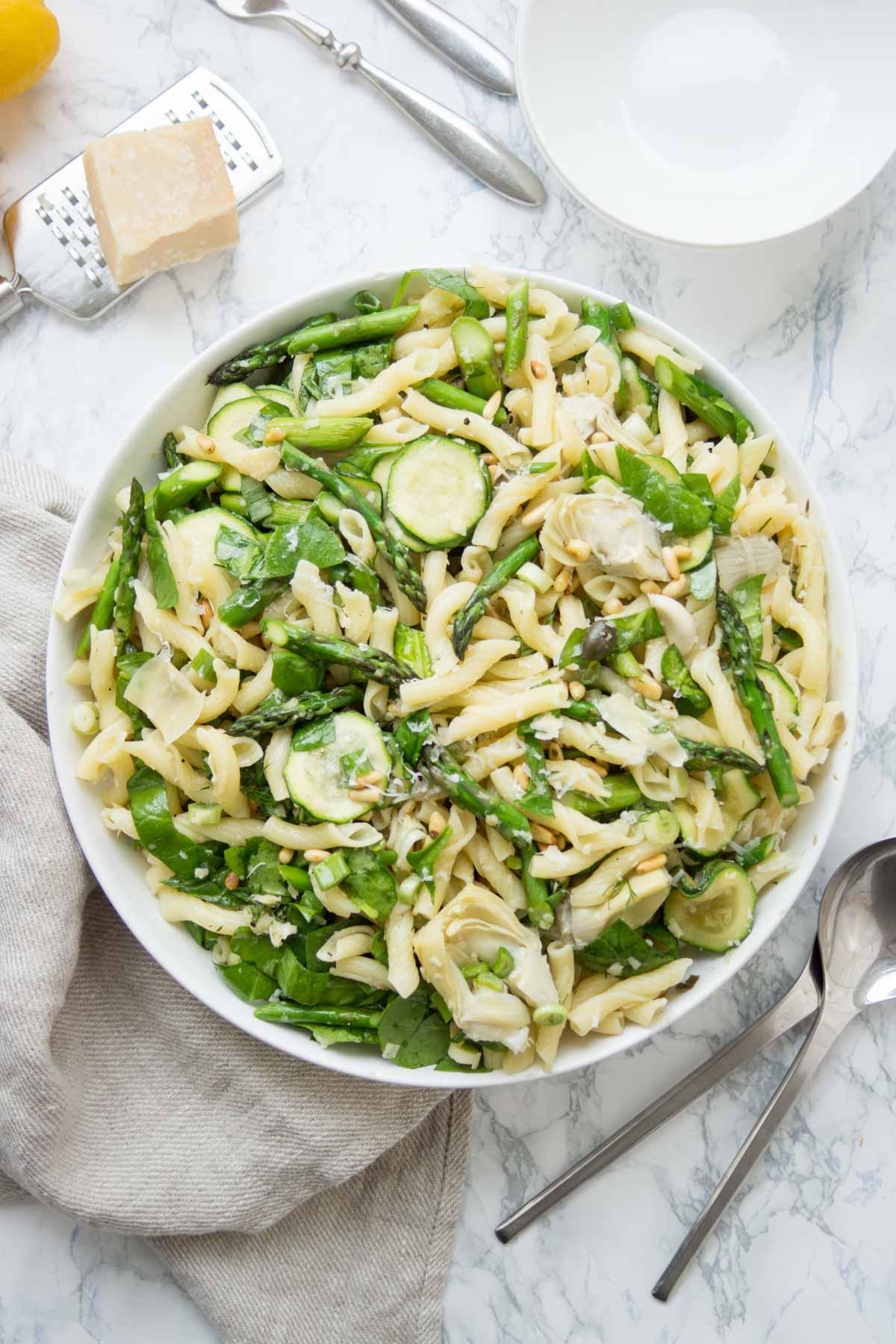 Spring Asparagus Pasta Salad