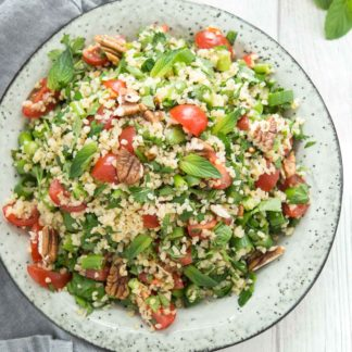 Bulgur Salad with Fresh Herbs and Lemon