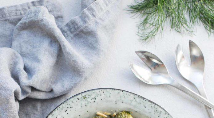 Gerösteter Rosenkohl mit Kapern, Dill & Zitrone Rezept mediterrane Art