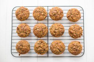 Karotten-Muffins mit Ingwer und Kokos, Saftige möhren muffins Rezept