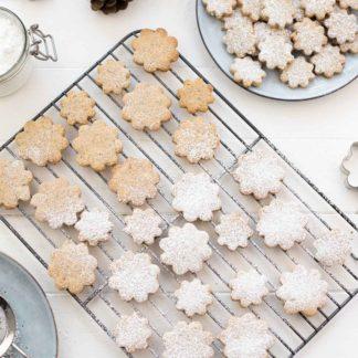 Dinkel-Mandel-Kekse mit Zitrone, einfache Plätzchen-Rezept