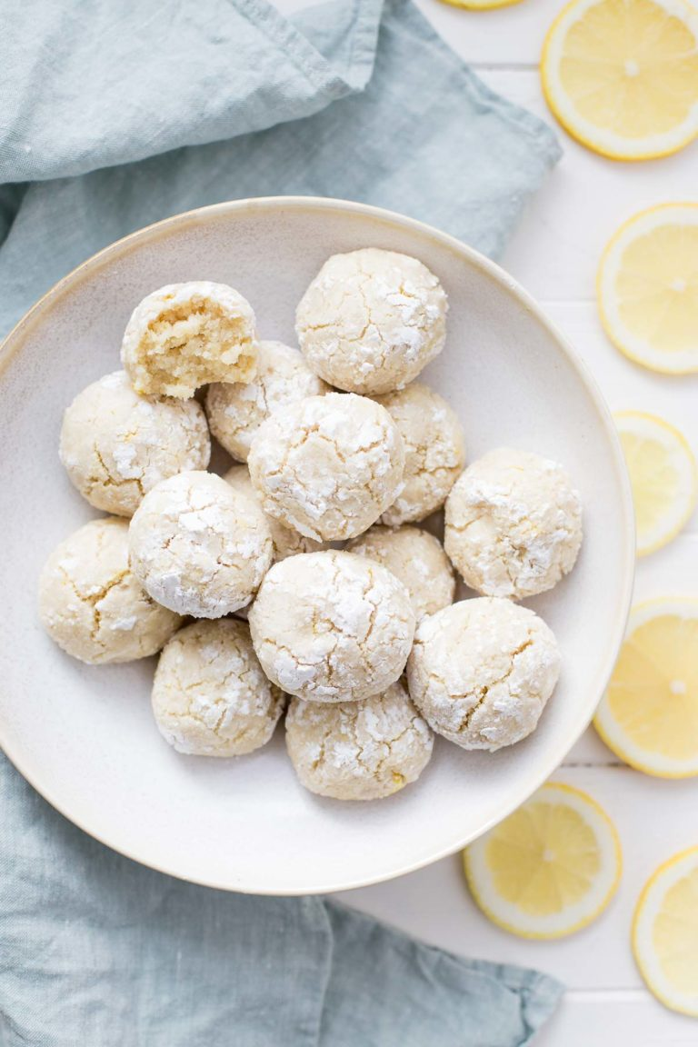 Easy Lemon Almond Cookies (Gluten-Free)