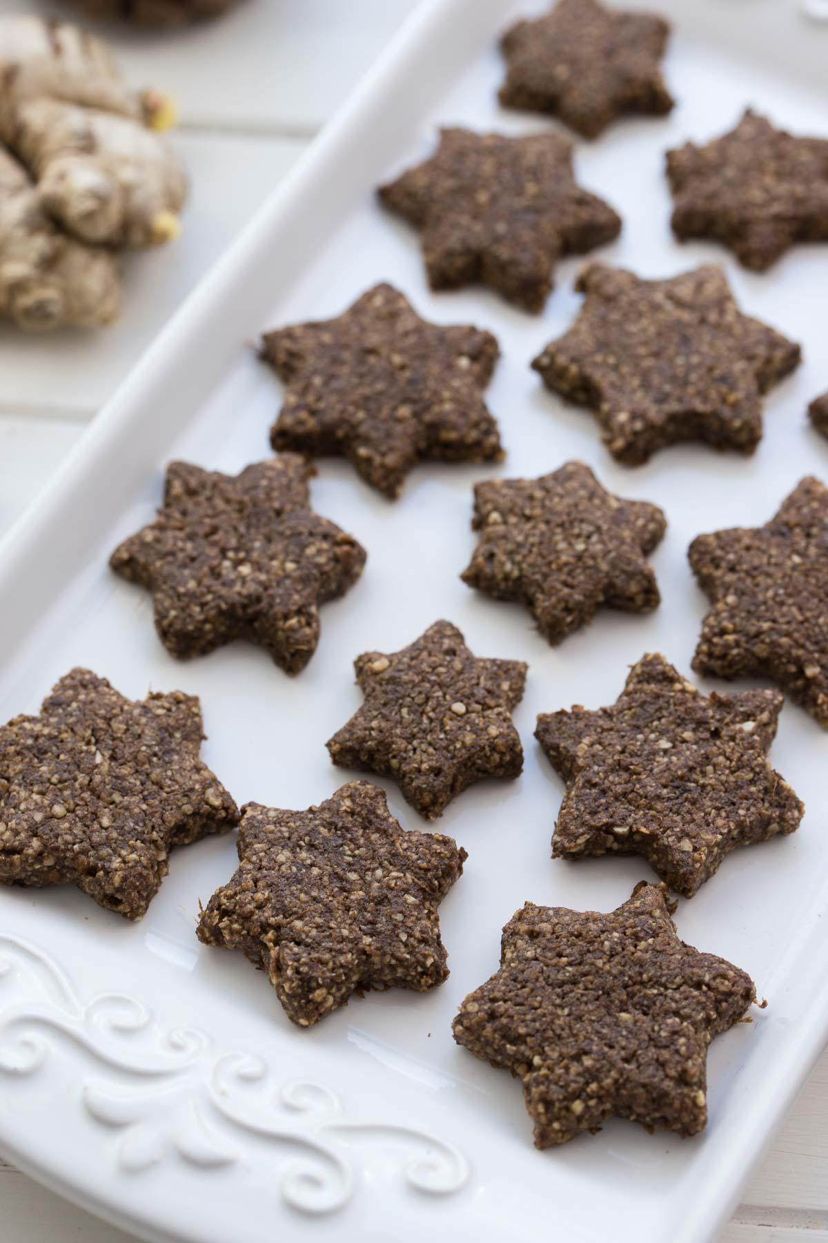 glutenfreie ingwer kekse rezept elle republic gesund backen. Black Bedroom Furniture Sets. Home Design Ideas