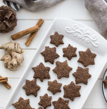 Glutenfreie Ingwer-Kekse mit Frischen Ingwer, Zimt, Mandeln Rezept