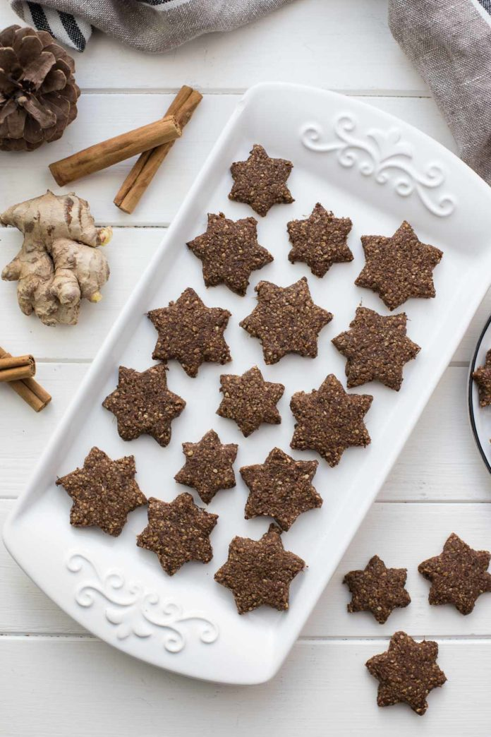 Fresh Ginger Cookies (Gluten-free)