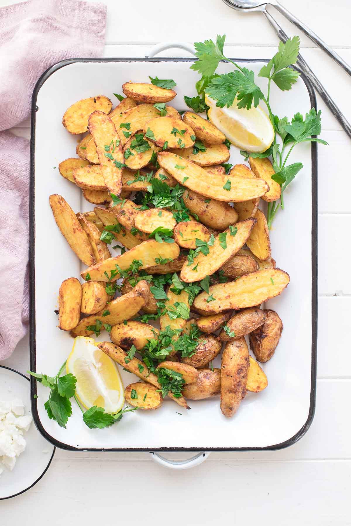 Harissa Kartoffeln Rezept | Einfach & Gesund