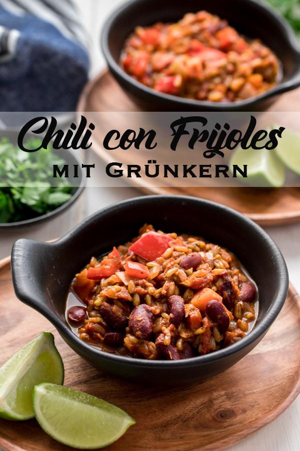 Vegetarisches Chili Mit Grünkern Rezept Elle Republic