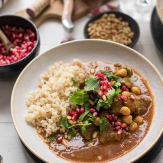 Middle Eastern Lamb Stew with Chickpeas