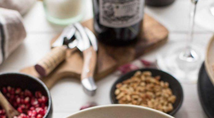 Orientalischer Lammeintopf mit Kichererbsen, Oliven, Cranberries
