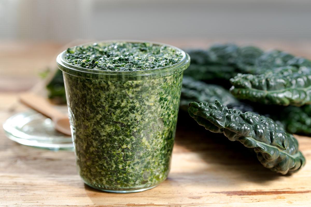 Lacinato Kale Pesto