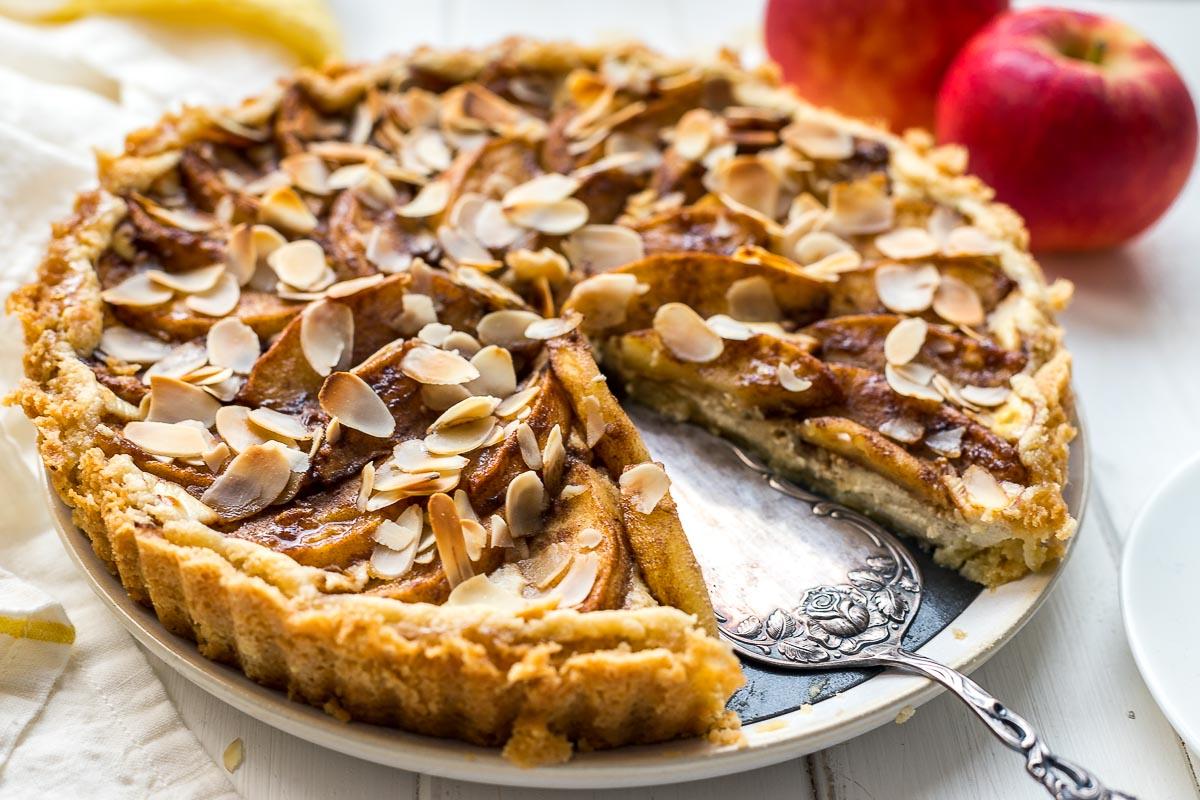 Apfel-Quark-Kuchen, Apfeltarte Rezept