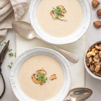 Maronensuppe Rezept als Vorspeise im Weihnachtsmenü