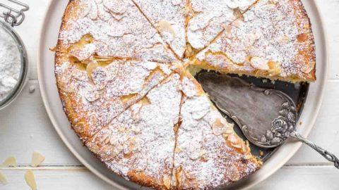 Mandelkuchen mit Ricotta und Zitrone ohne Mehl | Rezept | Elle Republic