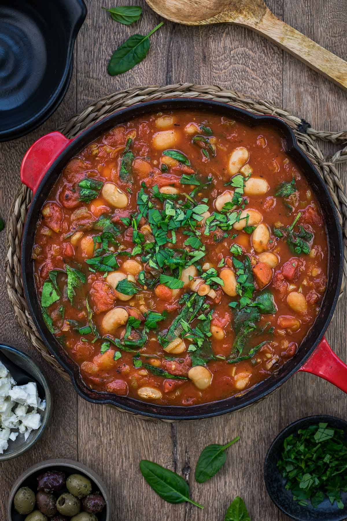 Weiße Bohnen in Tomatensoße | Rezept | Elle Republic