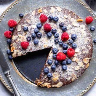 Schoko-Mandel-Kuchen (glutenfrei) Rezept