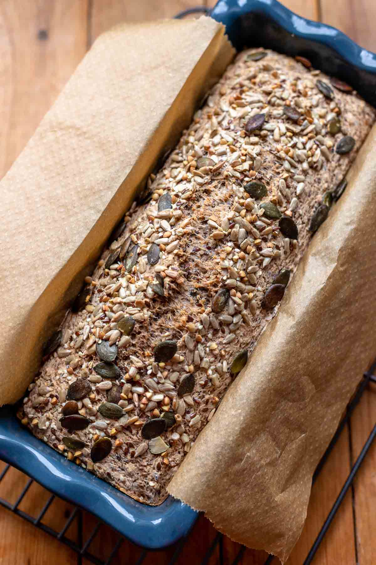 Simple Buckwheat Bread Recipe (gluten-free & vegan)