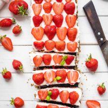 Erdbeer-Tarte mit Mascarpone-Creme (glutenfrei)