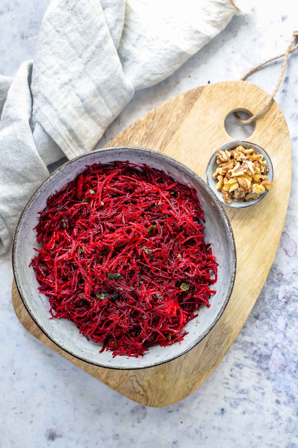 Beet and Carrot Salad (Beetroot Slaw with Carrots recipe)
