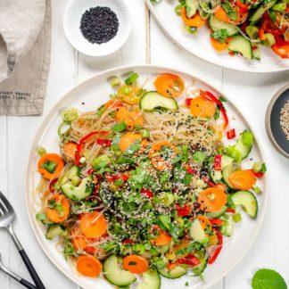vermicelli-Glasnudelsalat mit Gemüse-2020-1