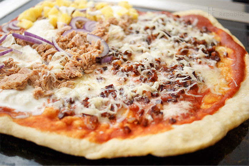 Grill-Pizza Schnell Selbstgemacht