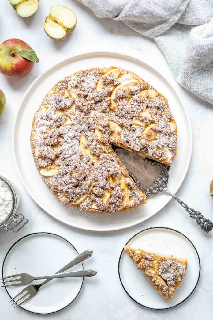 Apfel Streuselkuchen Rezept