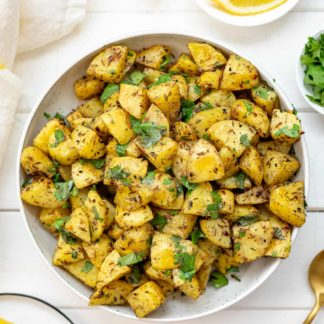 Backofenkartoffeln auf orientalische Art Rezept