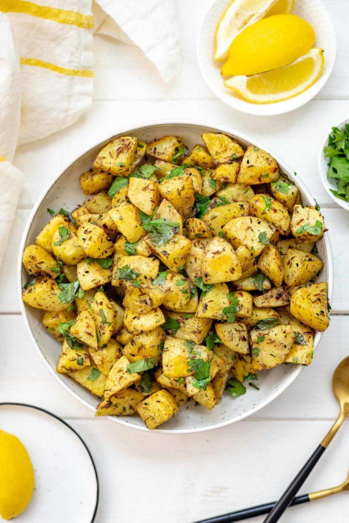 Backofenkartoffeln auf orientalische Art