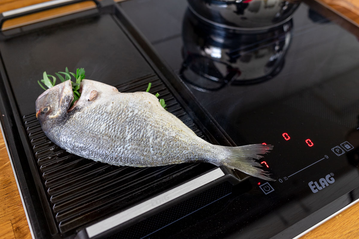 Whole Fish from the Grill — Grilled Sea Bream